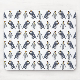 King Penguin Frenzy Mousemat (Choose Colour) Mouse Pad