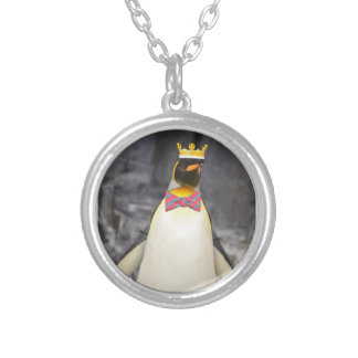 King Penguin Ice King Chillin' Silver Plated Necklace