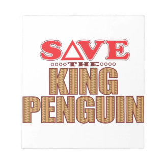 King Penguin Save Notepad