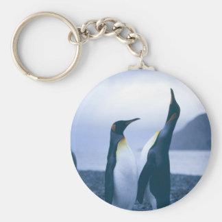 King Penguins Keychain