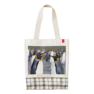 King Penguins Zazzle HEART Tote Bag