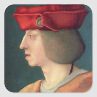 King Philip I `The Handsome' of Spain Square Sticker