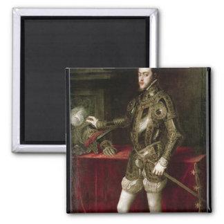 King Philip II  1550 Magnet