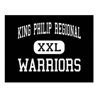 King Philip Regional - Warriors - High - Wrentham Postcard
