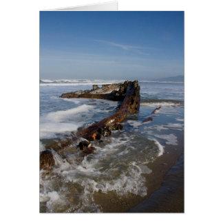 King Philip Shipwreck Card
