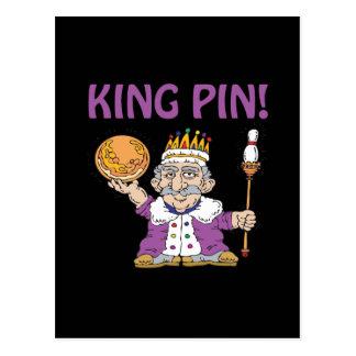 King Pin Post Card