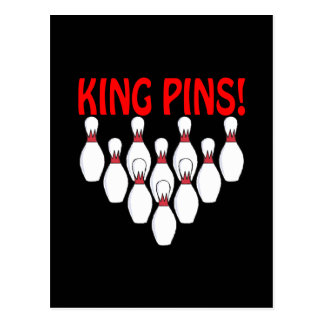 King Pins Postcard
