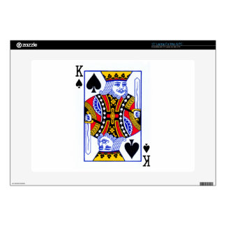 King Playing Card Decals For Laptops