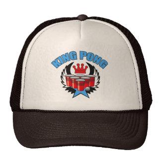King Pong 2 - Beer Pong Trucker Hats