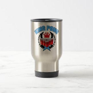 King Pong 2 - Beer Pong Travel Mug