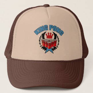 King Pong 2 - Beer Pong Trucker Hat