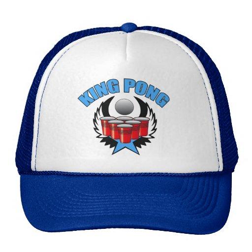 King Pong 3 - Beer Pong Trucker Hat