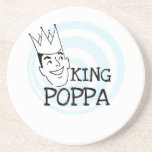 King Poppa T-shirts and Gifts Beverage Coaster
