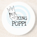 King Poppi T-shirts and Gifts Drink Coaster