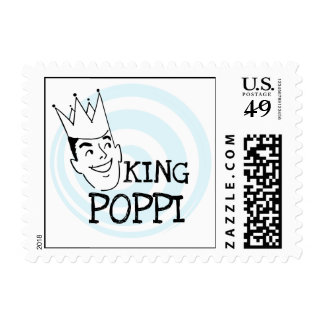 King Poppi T-shirts and Gifts Stamps