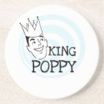 King Poppy T-shirts and Gifts Beverage Coaster