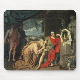 King Priam begging Achilles for return of Mouse Pad