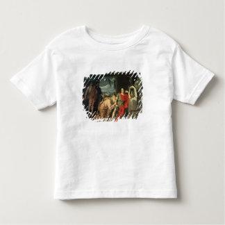 King Priam begging Achilles for return of Toddler T-shirt