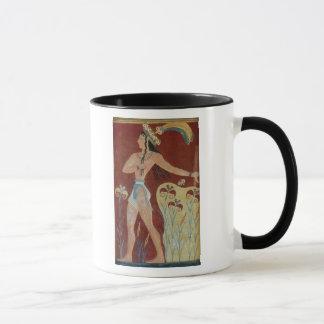King-Priest or Prince with Lilies Mug