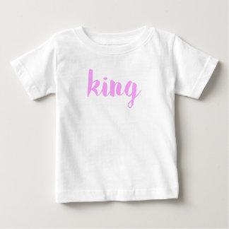 King Print Baby T-Shirt