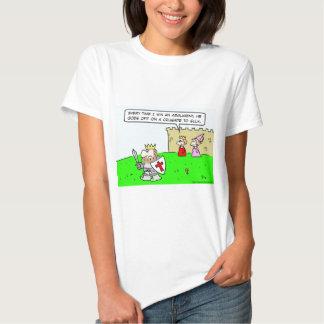 king queen argument crusade sulk t-shirt