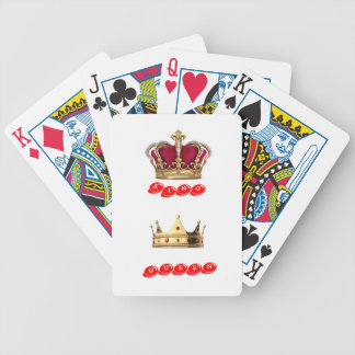 king queen bicycle playing cards
