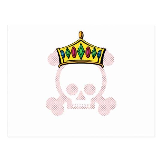 King/Queen Crown Postcard