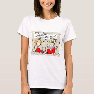 king queen dungeon proletariat bourgeoisie T-Shirt