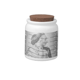 King & Queen of England Candy Jar