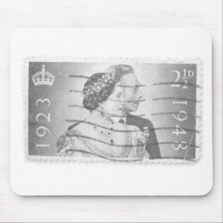 King & Queen of England Mouse Pad
