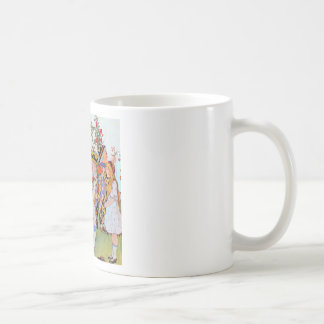 King & Queen of Hearts, Alice & the Cheshire Cat Classic White Coffee Mug