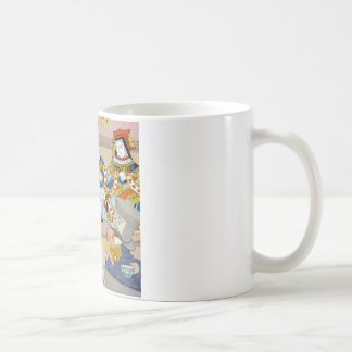 King & Queen of Hearts at Knave of Hearts Trial Classic White Coffee Mug