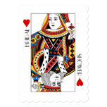 King & Queen Of Hearts Casino Bridal Shower Card at Zazzle