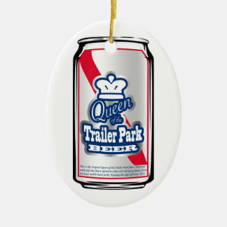 King/Queen of the Trailer Park Beer Ornament