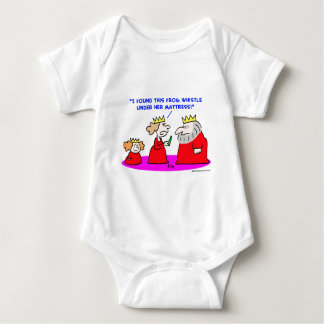 king queen princess frog whistle mattress baby bodysuit
