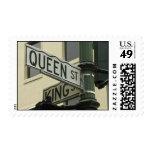 King & Queen Street, Charleston, SC Postage Stamp