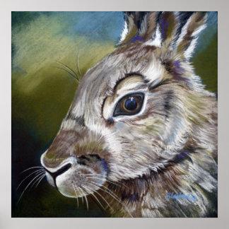 King Rabbit Poster