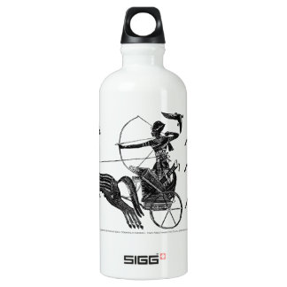King Ramesses II and his Sons Awesome Aluminum Water Bottle