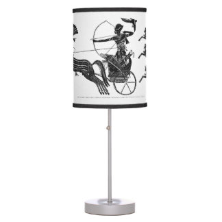 King Ramesses II and his Sons Majestic Table Lamp
