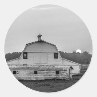 king ranch york south carolina white rose city sma classic round sticker