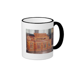 King Rene's Honeymoon cabinet Ringer Coffee Mug