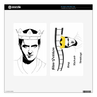 King Richard Case for Kindle Fire Kindle Fire Decal