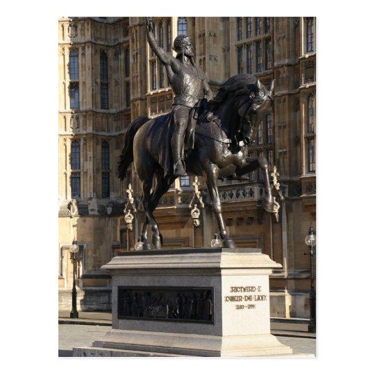 King Richard I – The Lionheart  Postcard