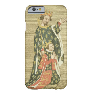 King Richard II (1367-1400) with his father Edward Barely There iPhone 6 Case