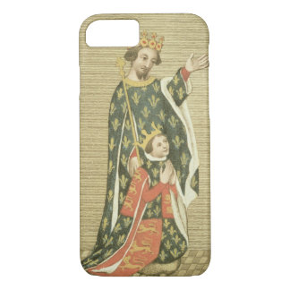 King Richard II (1367-1400) with his father Edward iPhone 7 Case