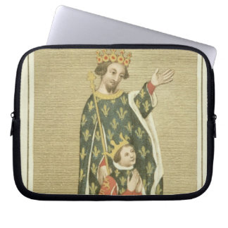 King Richard II (1367-1400) with his father Edward Laptop Sleeve