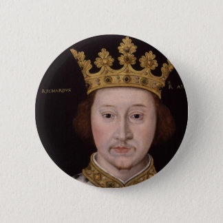 King Richard II of England Button