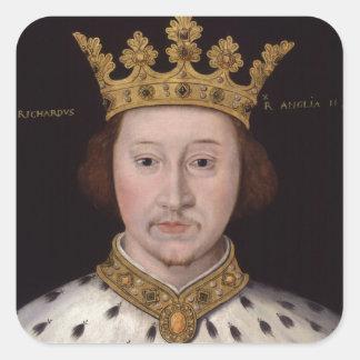 King Richard II of England Square Sticker