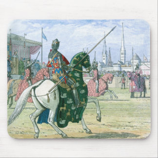 King Richard II stops the duel Mouse Pad