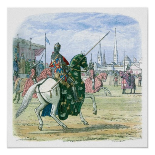 King Richard II stops the duel Poster